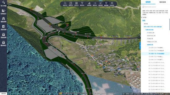 """让高速公路从图纸上""""立""""起来 四川首个路网级数字高速建管平"""