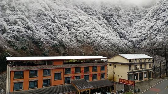 阿坝州气象台凌晨发布暴雪蓝色预警