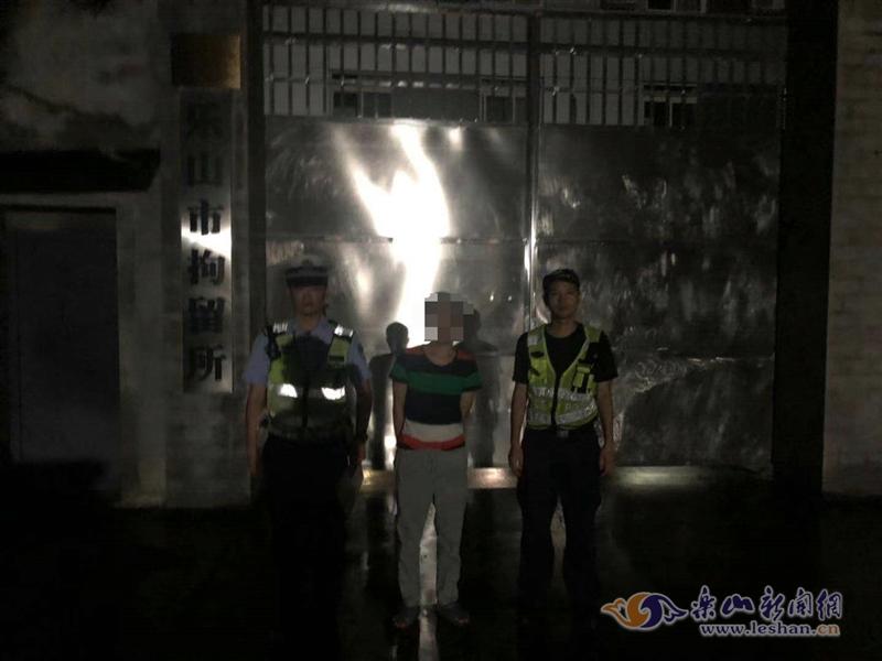 无证驾驶被抓现行 男子行政拘留10日