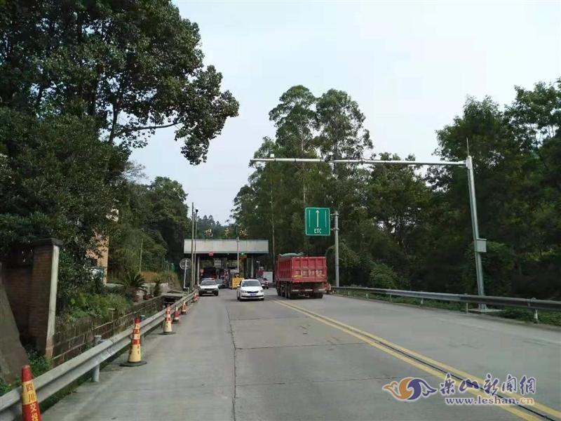 26日起 成乐高速观音滩收费站启动违法抓拍功能