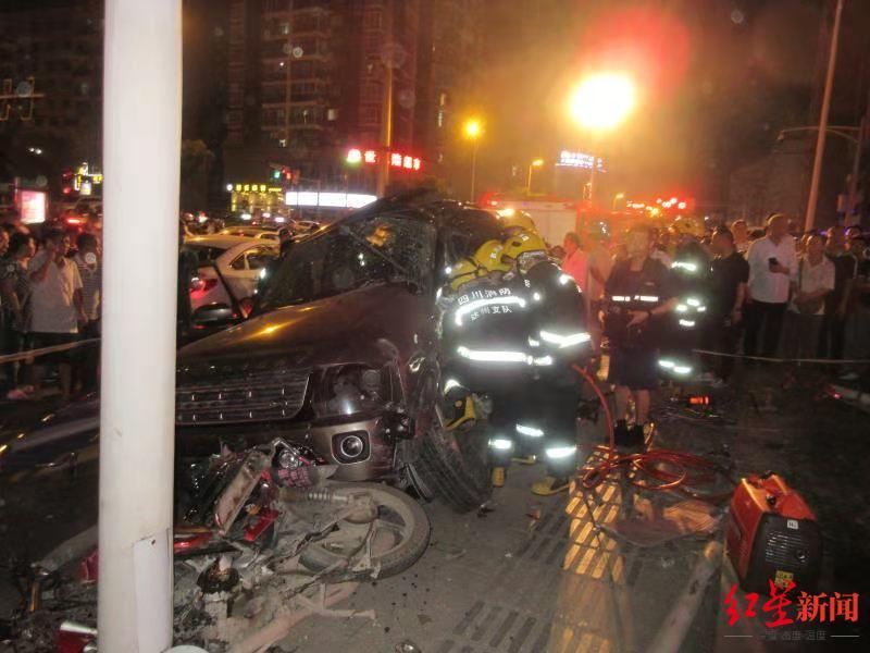 """追责!达州""""5·17""""车祸致1死14伤 超载违反禁令标志入城且刹"""