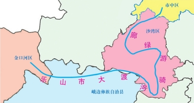 大渡河骑游绿廊项目今年启动 总长200余公里