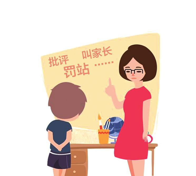 批评、罚站、打手心、叫家长 老师教育惩戒家长最担心什么