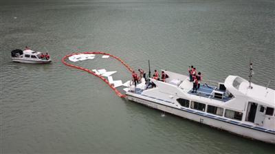演练!岷江沱江干流突发水污染 多部门联动应急处置