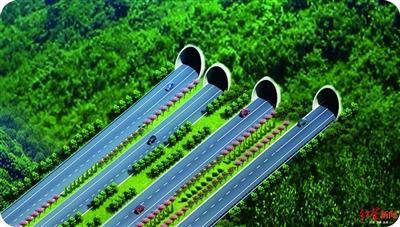 天府大道二峨山段开工 2022年从成都一路向南直达仁寿