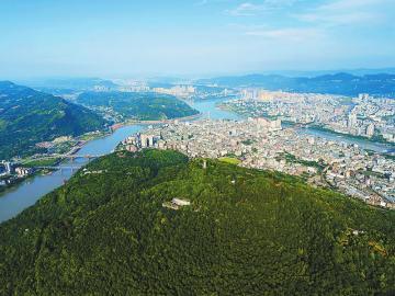 长江首城生态宜宾 宜宾市奋力创建国家园林城市