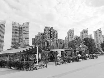 位于成都高新区的江滩公园量子工坊。