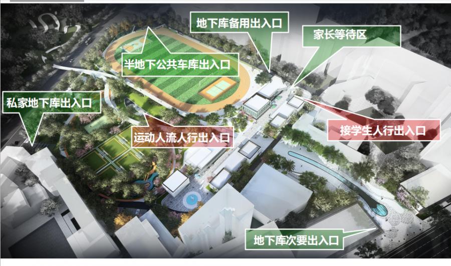 改造后的人民广场出行效果图。(宜宾新闻网 赵雪松 摄)