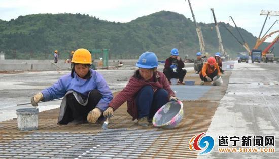 好消息!遂宁凤台大桥全桥合龙 5月底将建成完工