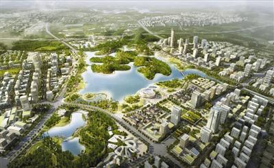 无边界公园城市规划图