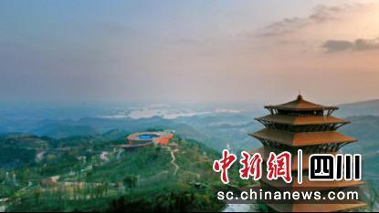 龙泉山城市森林公园丹景台景区核