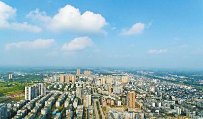 富顺县晨光工业园。