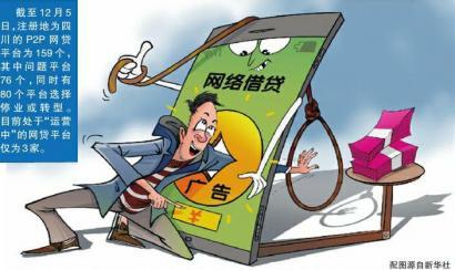 四川全面取缔P2P网贷 成都金融街金融业态已不再是主角