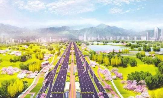 """又添一條""""天府大道""""!成都150公里東西城市軸線工程開工"""