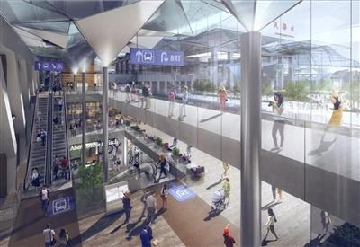 火车北站区域要更新升级了 以后请叫这里人北中央商务区