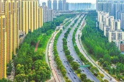 改造后的成都市三环路