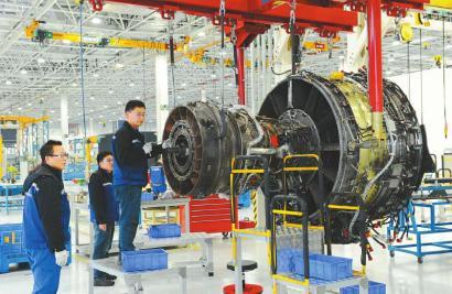 四川国际飞机发动机维修公司。
