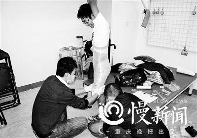 假肢矫形师10年帮400多名汶川地震伤员站起来(图)