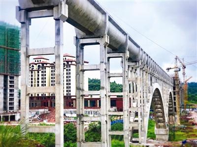 四川毗河供水一期预计9月试通水 乐至群众快喝上都江堰的水了
