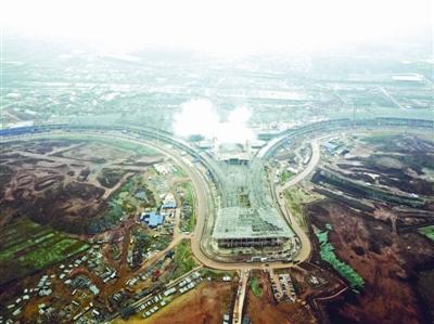 天府国际机场28项配套工程建设正推进