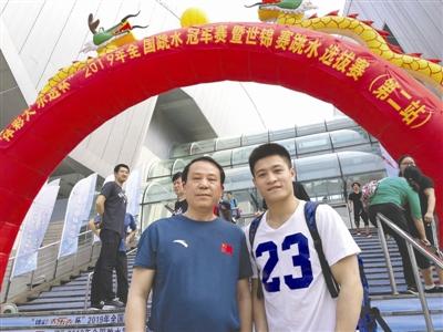 泸州跳水小伙杨健世锦赛夺冠