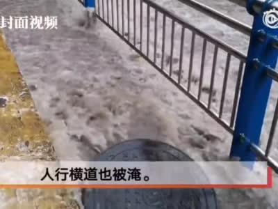 视频丨今年四川最大范围暴雨来袭 川南多高速封闭