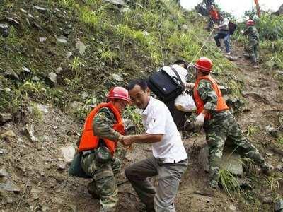 汶川受灾区域4.7万余名游客成功转移