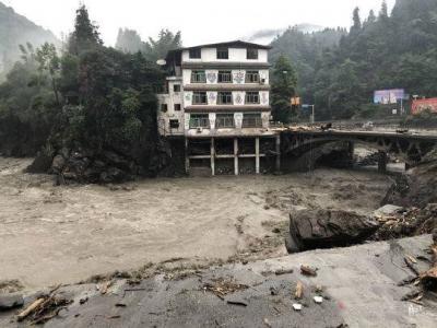 汶川撤离故事:泥石流过后都留下了些什么