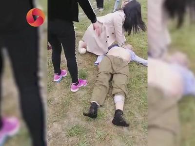 视频丨老人坠河溺水 路过护士二话不说紧急施救