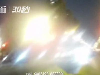 撞电瓶车后逃逸?四川自贡高新交警27分钟拦下他!