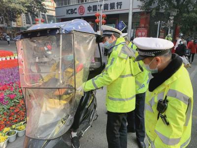 遂宁将对电动自行车违规加装遮阳伞的行为展开整治