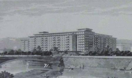 70年代的锦江宾馆