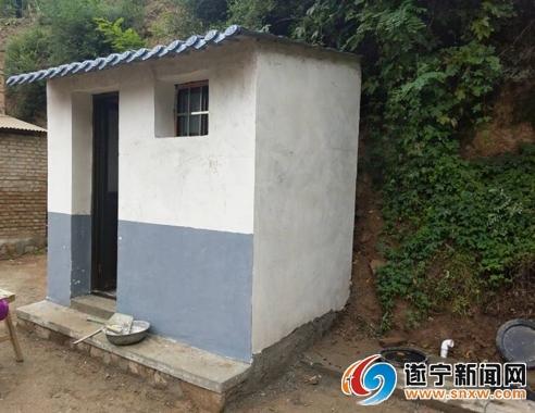 遂宁新(改)建公共厕所121座、农村户厕286700户
