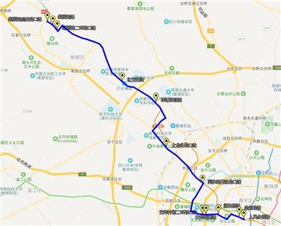 下周一起成都再开2条网约公交线路 调整1条线路