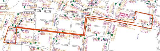 成都新开公交445路 贝森路片区居民换成快速公交地铁更方便