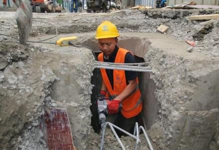 成都一环路综合整治 部分区段已完成输排水工程