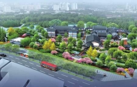 青羊区公园城市建设和城市更新局供图规划效果图。
