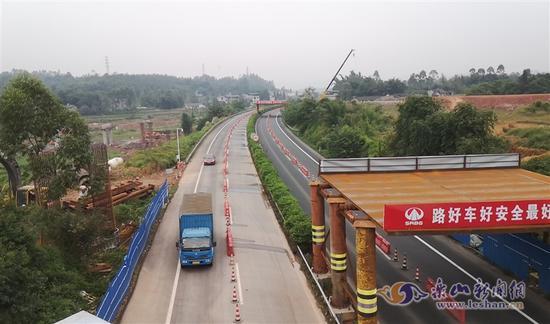 9月23日起至28日 乐宜高速这一路段交通管制