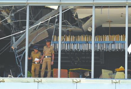 斯里兰卡一天遭遇八起爆炸袭击