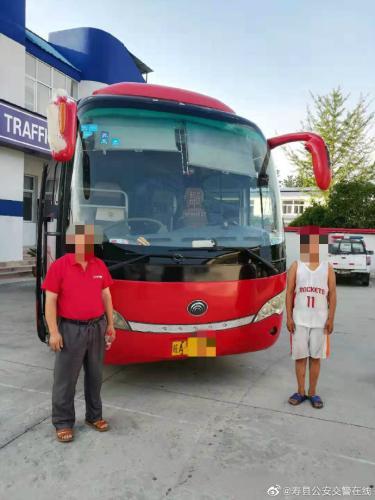 图片来源:安徽省淮南市寿县公安局交警大队官方微博