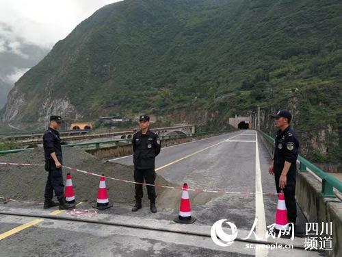 汶川积极应对灾情 全县4人遇难11人失联转移三万余人