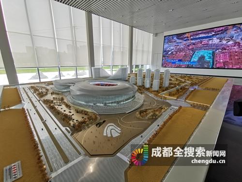 凤凰山体育中心八月航拍亮相 已进入项目主体建设