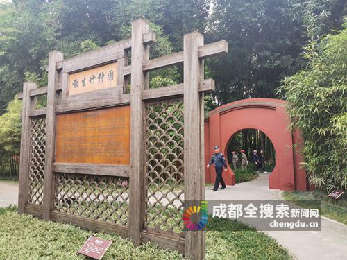 望江楼公园新增小门