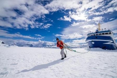 80后小伙辞职南极游 10次去9次没花钱