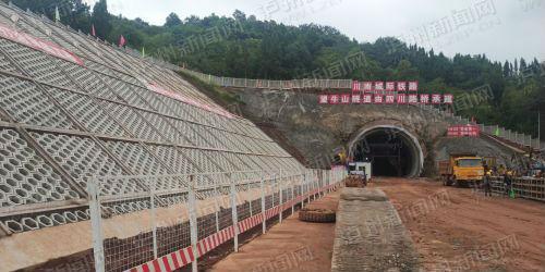 川南城际铁路泸州境内建设全面铺开 力争2020年建成通车