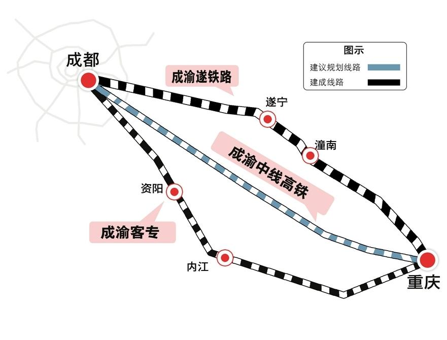 省人大代表倪勋建议:加快规划建设成渝中线高铁