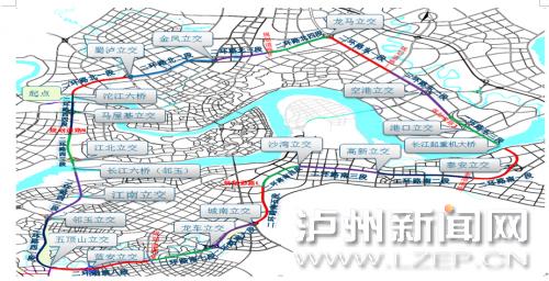 泸州二环路纳溪段建设顺利推进 预计2020年全线贯通