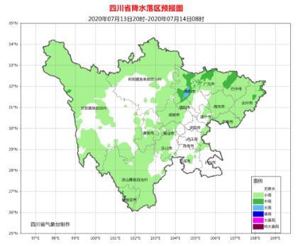 四川本周将再迎强降雨 而且是两轮