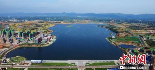 兴隆湖美景。天府新区供图