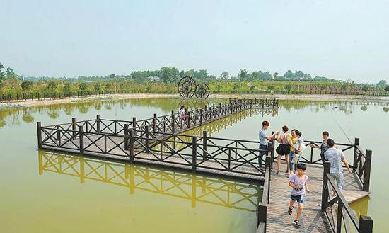 探访四川农村生活污水治理先行先试区县:碧水清流是怎么来的
